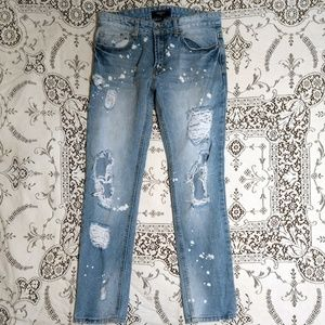 Forever 21 Distressed Jeans Size 30
